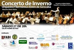 Concerto de Inverno é atração na Fadi em Agosto