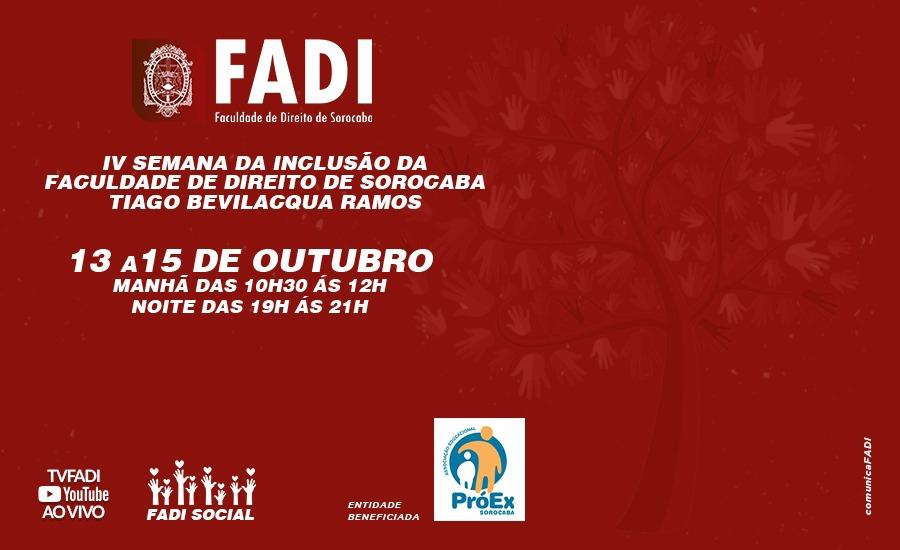 Semana de Inclusão FADI