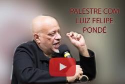 Palestra de Luiz Felipe Pondé