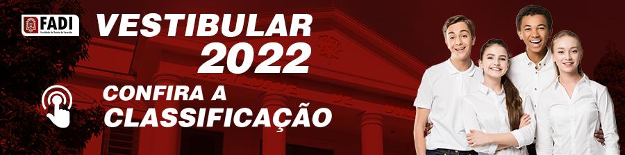 Vestibular Edital 2022