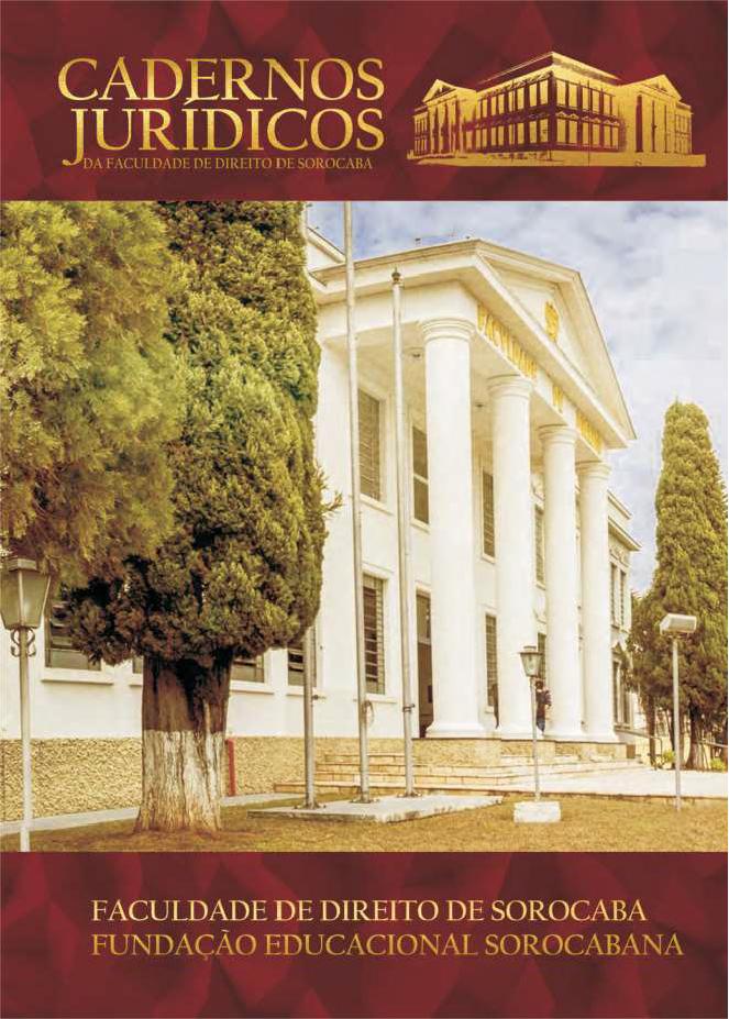 Cadernos Jurídicos da Faculdade de Direito de Sorocaba